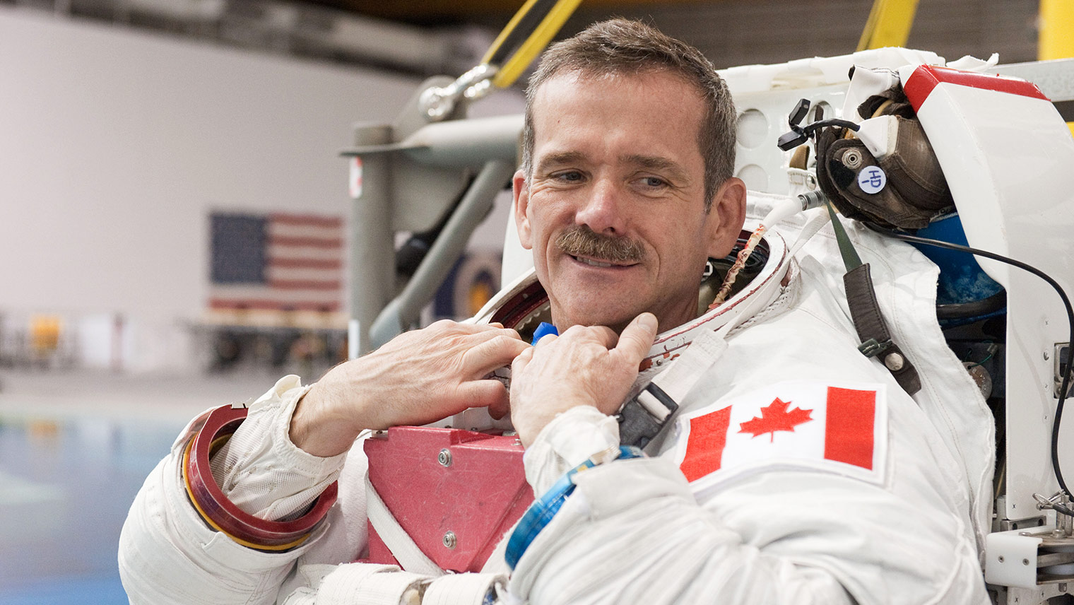 Chris hadfield canadian astronaut